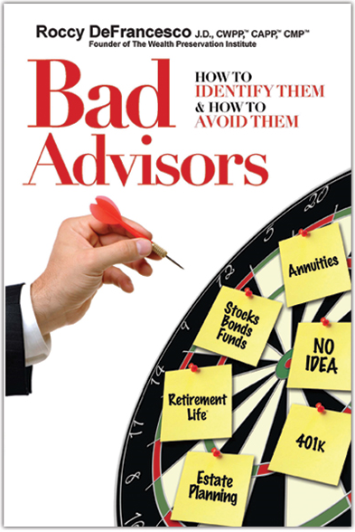 Bad Advisors Book